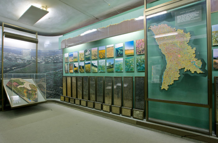 Soils and Agroland shafts of Moldova